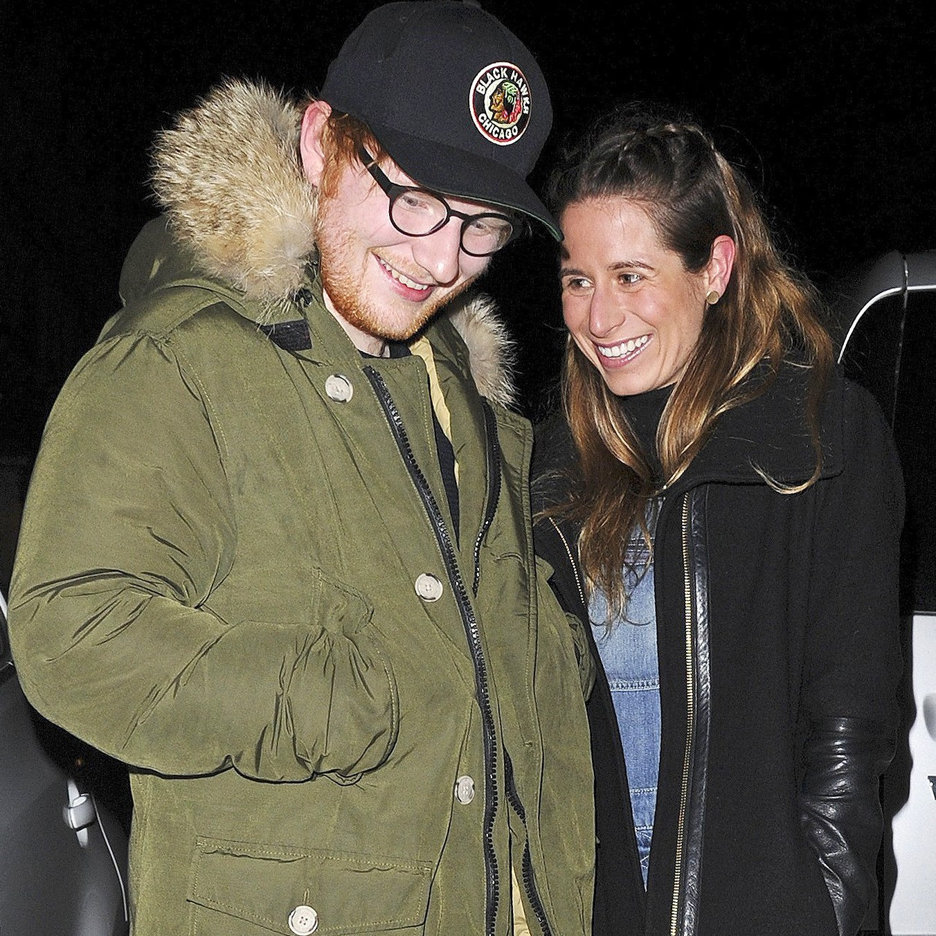 Ed Sheeran, Cherry Seaborn, Engaged, Girlfriend, Fiancee, New Year